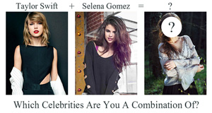 Which Celebrities Are You A Combination Of?