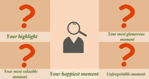Which are your life defining moments
