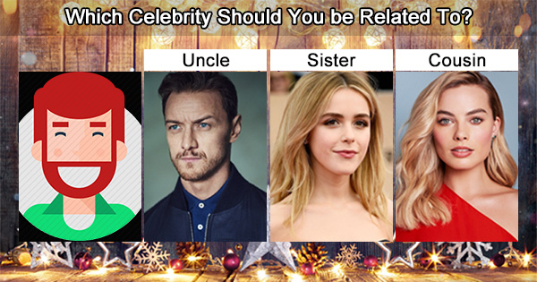 Which Celebrity Would Be Your Siblings?