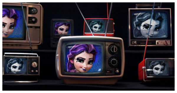 Old TV sets will definitely show your beauty!