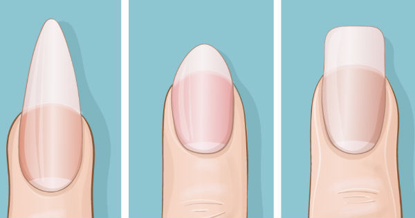 What surprise message does your nail shape reveal  about?